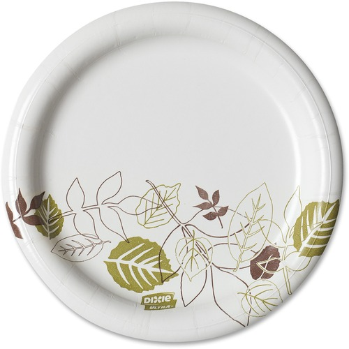 Dixie Foods Pathways Heavyweight Paper Plates | by Plexsupply