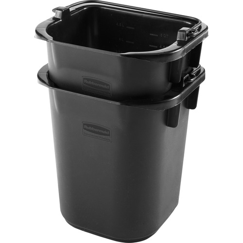 Rubbermaid Comm. Executive 5-quart Heavy-duty Pail | by Plexsupply