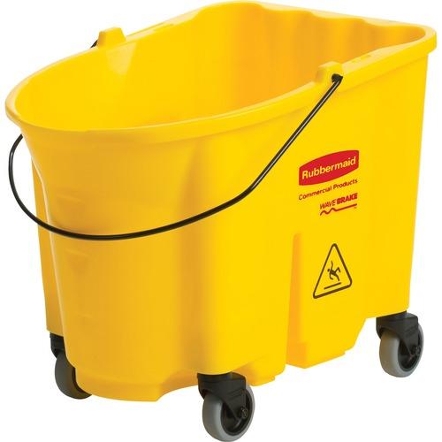 Rubbermaid Comm. 35-qt WaveBrake Mop Bucket | by Plexsupply