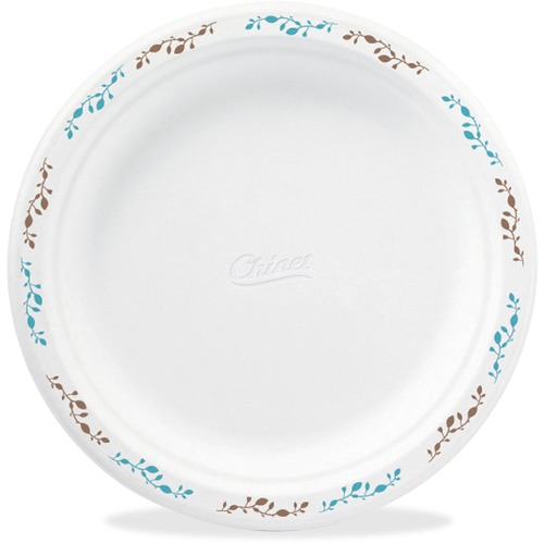 "Chinet Paper Dinnerware, Plates, 6"", 1000/CT, White"