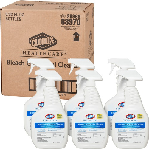 Clorox Healthcare Bleach Germicidal Cleaner Spray | by Plexsupply