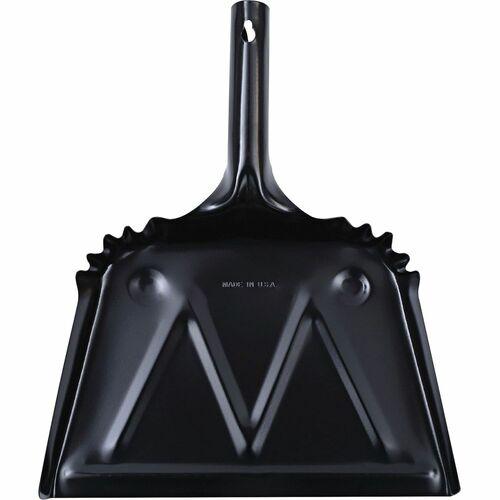 Genuine Joe Heavy-duty Metal Dustpan  | by Plexsupply