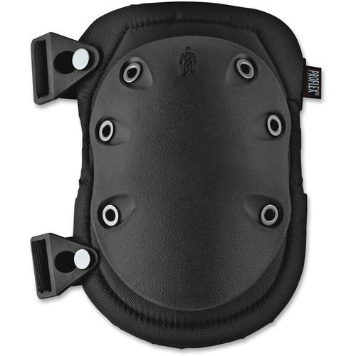 Ergodyne Wide Slip Resistant Rubber Cap Knee Pad | by Plexsupply
