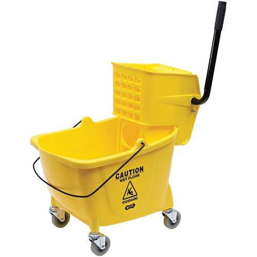 Genuine Joe 35-qt Mop Bucket/Wringer Combo  | by Plexsupply