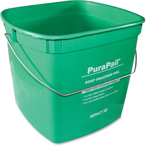 Impact PuraPail 6-Qt Utility Cleaning Bucket | by Plexsupply