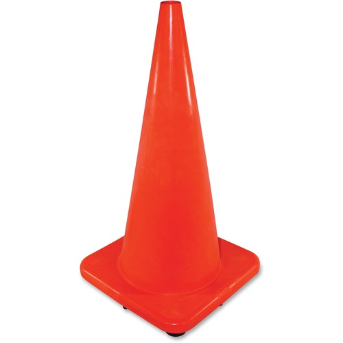 "Impact Products 28"" Slim Orange Safety Cone | by Plexsupply"