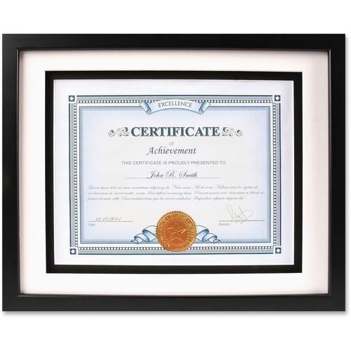 Burns Grp. Airfloat Certificate Frame | by Plexsupply