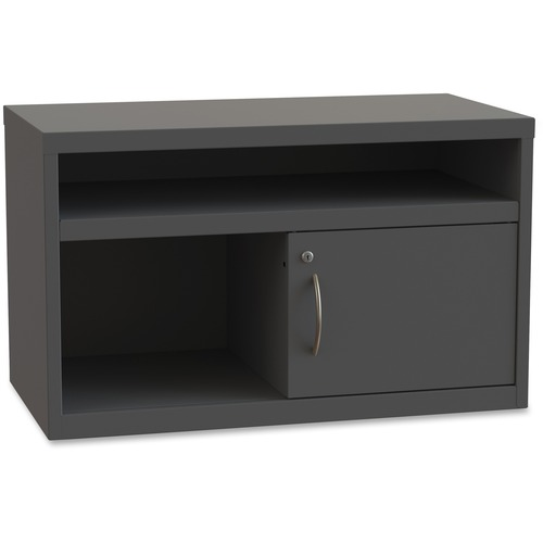 Lorell Sliding Door Lateral Credenza | by Plexsupply
