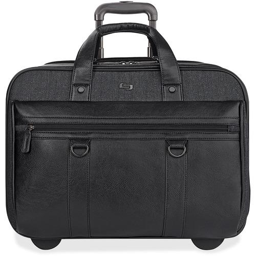 US Luggage Solo Bradford Rolling Case | by Plexsupply