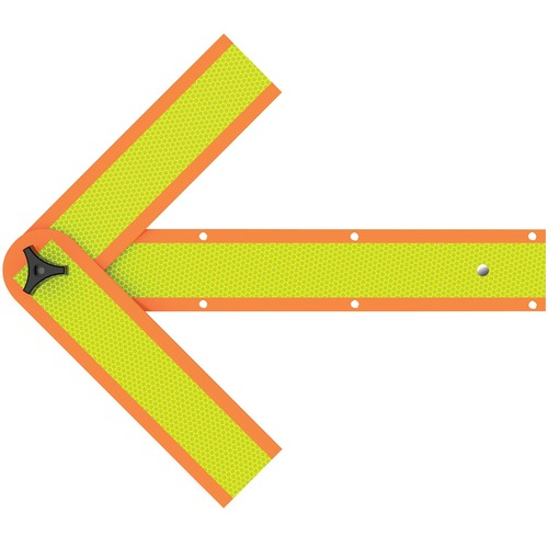 Deflecto Reflective Safety Arrow  | by Plexsupply