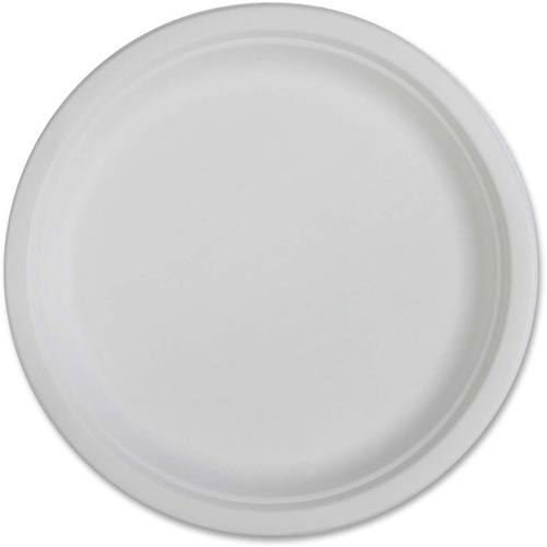 Genuine Joe Compostable Plates | by Plexsupply
