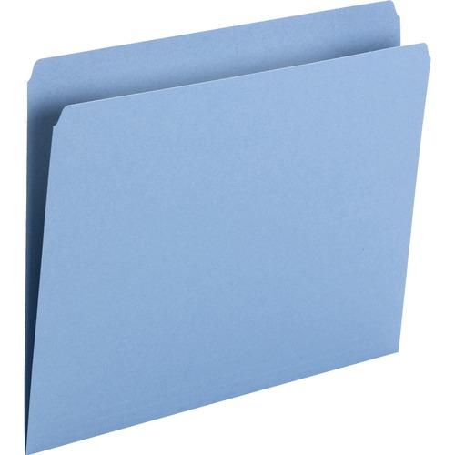 Smead 11pt 1-ply Tab Str-cut Color File Folders | by Plexsupply