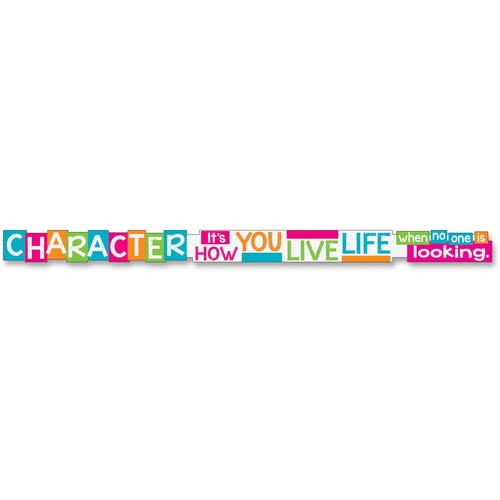 Trend Character It's How You Live Message Banner   by Plexsupply