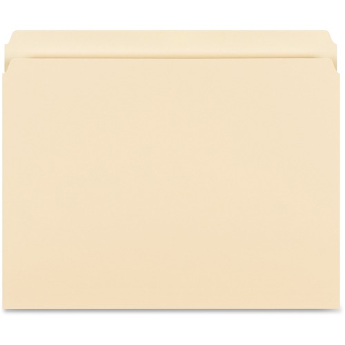 Bus. Source Str-cut 1-ply Tab Heavywt File Folders | by Plexsupply