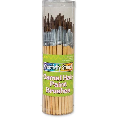 Chenille Kraft Camel Hair Paint Brushes   by Plexsupply