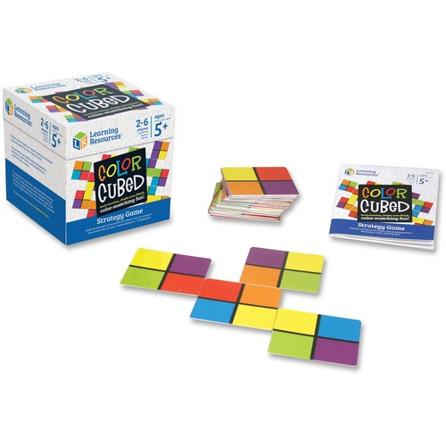 Learning Res. Color Cubed Strategy Game | by Plexsupply