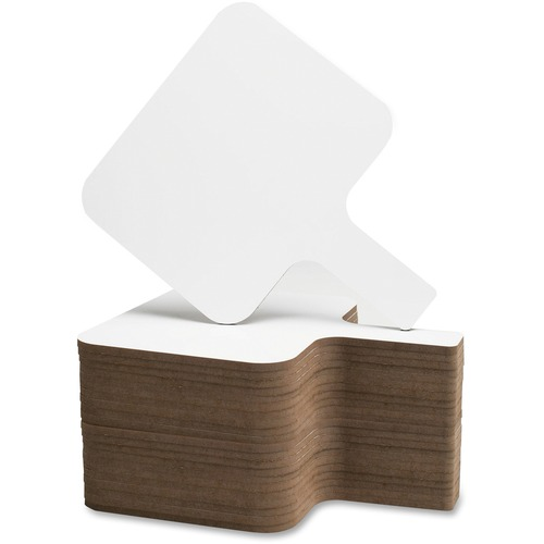 Flipside Prod. Rectangular Dry Erase Answer Paddle | by Plexsupply