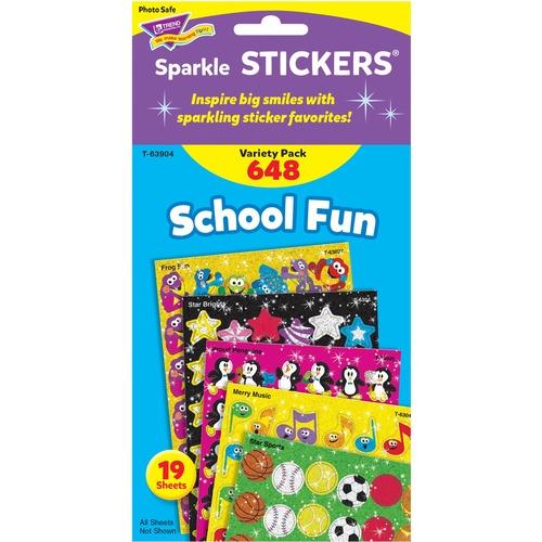 Trend School Fun little sparkler Stickers | by Plexsupply