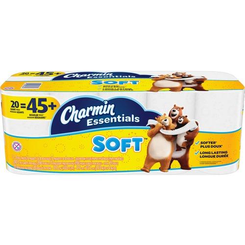 Charmin Essentials Soft Bath Tissue 20/Pack
