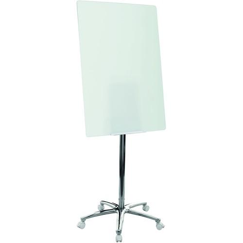 Bi-silque MV Value Glass Mobile Easel   by Plexsupply