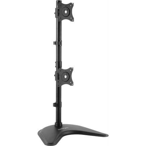 """StarTech.com Vertical Dual Monitor Stand - Heavy Duty Steel - Monitors up to 27"""" - Vesa Monitor - Computer Monitor Stand_subImage_1"""