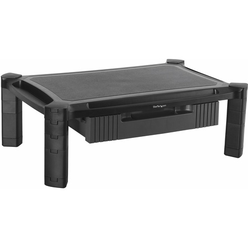 """StarTech.com Adjustable Monitor Riser - Large - Drawer - Monitors up to 32""""- Adjustable Height - Desk Monitor Stand_subImage_1"""