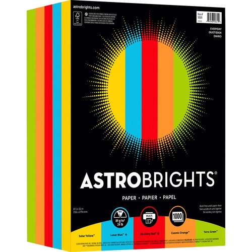 Wausau Astrobrights Everyday Color Paper