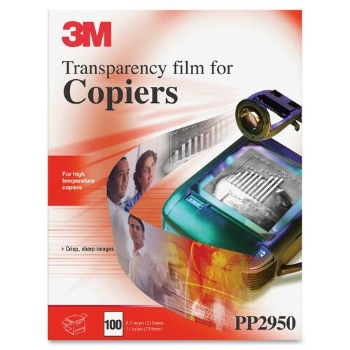 3M High Temperature Copier Transparency Film, PP2950