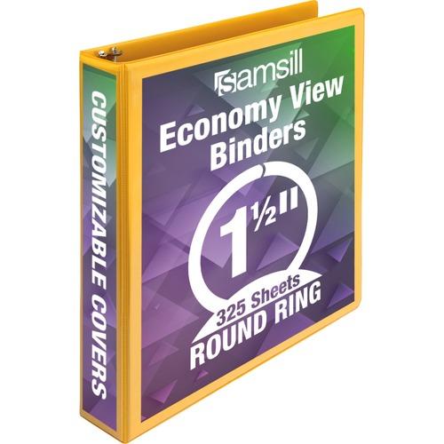 Samsill Economy Round Ring View Binder