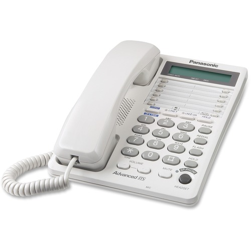 Panasonic LCD Display 2-line Speakerphone | by Plexsupply