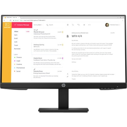 "HP P24h G4 23.8"" Full HD LCD Monitor - 16:9_subImage_1"