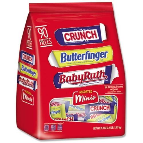 Nestle Chocolate Assorted Minis 2.5 lb Bag