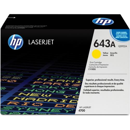 HP 643A (Q5952A) Yellow Original LaserJet Toner Cartridge