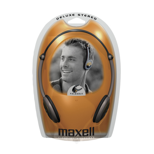 Maxell HP-300F Deluxe Lightweight Stereo Headphone