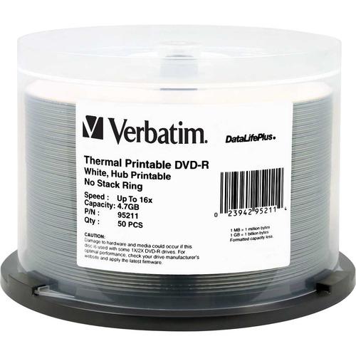 Verbatim DataLifePlus 16x DVD-R Media