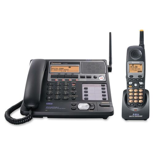 Panasonic RF 5.80 GHz Cordless Phone - Black