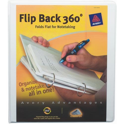Avery Flip Back Economy Reference View Binder
