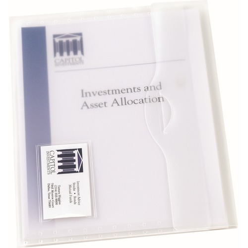 Avery Translucent Document Wallets | by Plexsupply