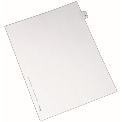 Avery Side-Tab Number Individual Legal Dividers | by Plexsupply