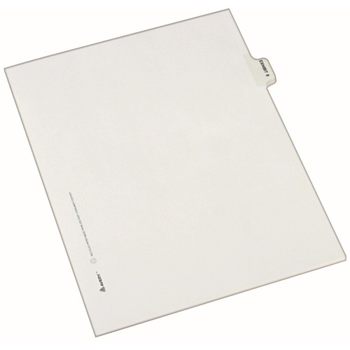 Avery EXHIBIT Number Individual Legal Dividers  | by Plexsupply