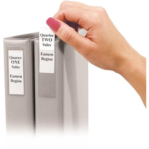 C-Line Self-Adhesive Binder Labels  | by Plexsupply