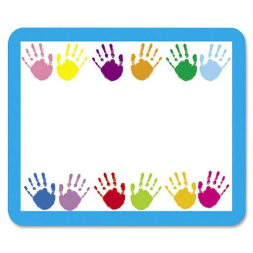 Carson-Dellosa Handprints Name Tags