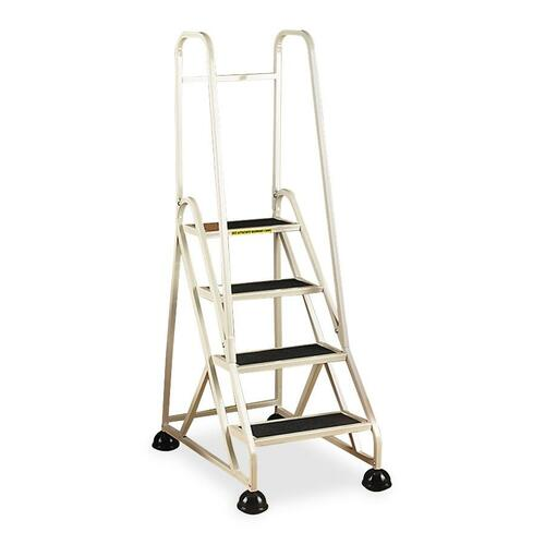 Cramer Dual Rail Four-step Aluminum Ladder | by Plexsupply