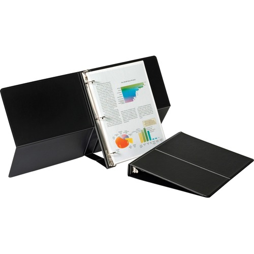 Cardinal Presentation Easel Round Ring Binders | by Plexsupply