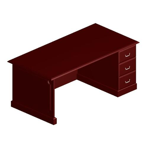 DMI Office Furniture Governor Pedestal Corner Credenza