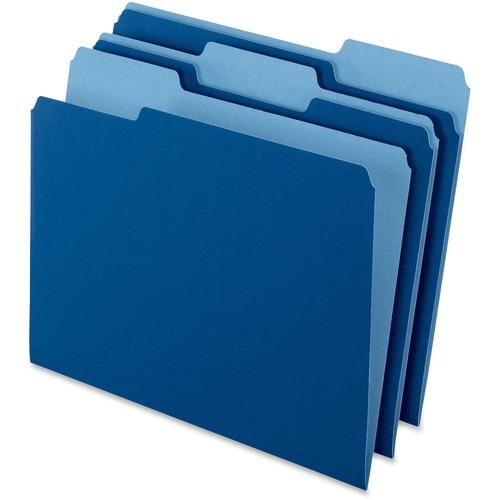 Esselte Two-Tone Color File Folder