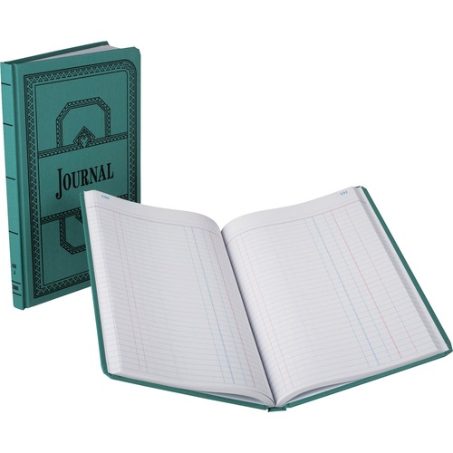 Esselte Blue Canvas Book Journal-Ruled