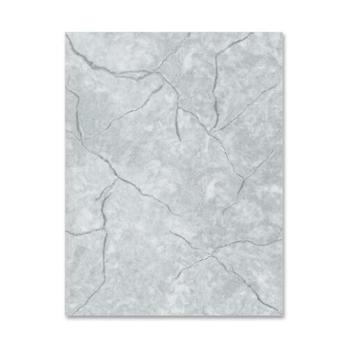 Geographics Marble-Gray Letterhead Stationery   by Plexsupply