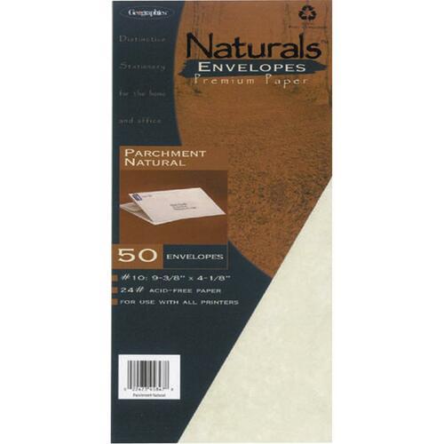 Geographics Naturals Parchment Envelope