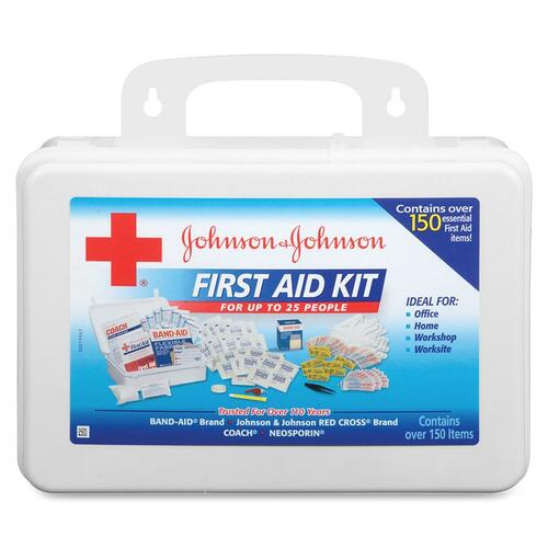 Johnson & Johnson Office/Worksite First Aid Kit